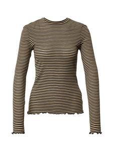 VERO MODA Shirt ''OLINE'' camel / schwarz