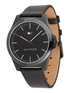 TOMMY HILFIGER Uhr schwarz