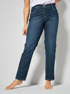 Slim Fit Jeans Emma dunkelblau Dollywood