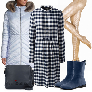 Winterliches   Abend Outfit FrauenOutfits.de