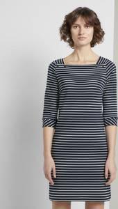 TOM TAILOR Minikleid Maritimes Kleid mit Streifen