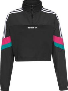 ADIDAS ORIGINALS Sweatshirt pastellblau / pink / schwarz / weiß