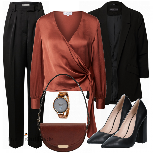 Elegantes Herbst Outfit FrauenOutfits.de