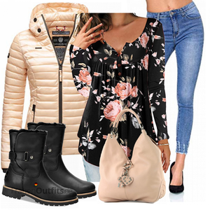 Bequemes Winter Outfit FrauenOutfits.de