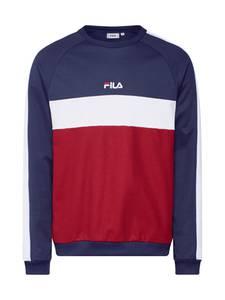 FILA Sweatshirt ''PAAVO Crew Shirt'' dunkelblau / weinrot / weiß