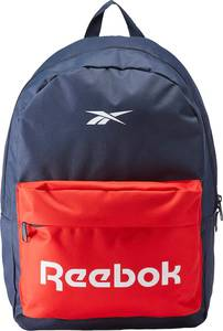REEBOK Rucksack dunkelblau / hellrot