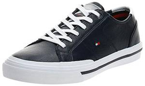 Tommy Hilfiger Herren Harrington 16a Sneaker, Blau (Desert Sky Dw5), 43 EU