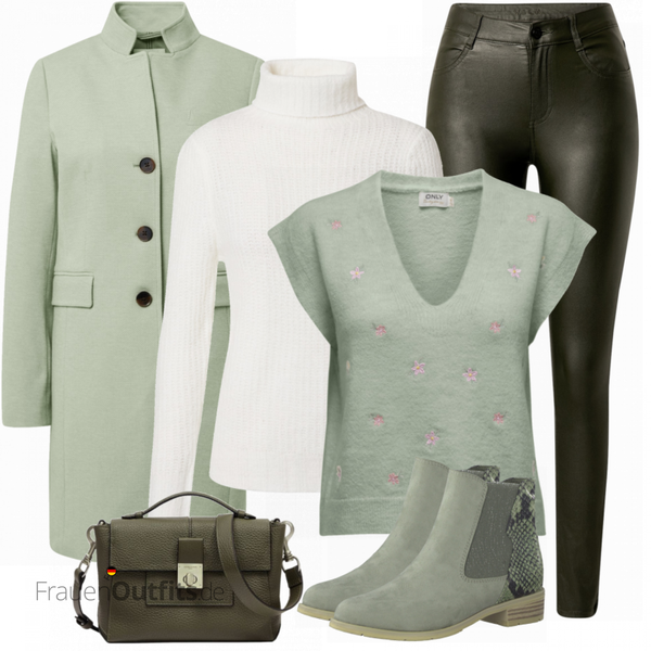 Cooles Winter Outfit FrauenOutfits.de