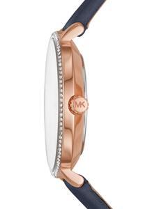 Michael Kors Uhr ''MK2804'' kobaltblau / rosegold / weiß