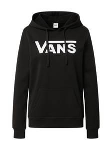 VANS Sweatshirt schwarz / weiß