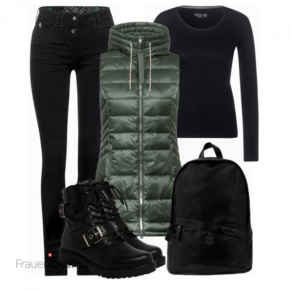 Winterlicher Look FrauenOutfits.ch