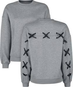 Fashion Victim Pullover mit Sweatshirt