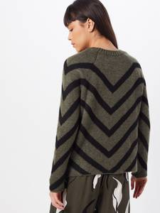 ONLY Pullover ''LELIZA'' grün / schwarz