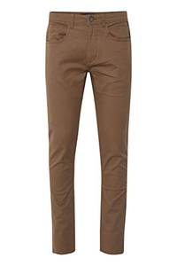 Blend Saturn Herren Chino Hose Stoffhose Aus Stretch-Material Regular Fit, Größe:W34/30, Farbe:Mocca Brown (71508)