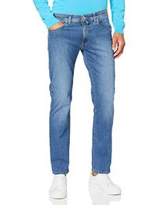 Pierre Cardin Herren Lyon Tapered Futureflex Strech Denim Jeans, blau 45, 32W / 32L