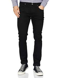 Lee Herren Luke Jeans, Black Clean Black, 32W / 32L