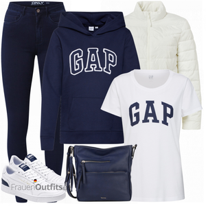 Sportliches Winter Outfit FrauenOutfits.de