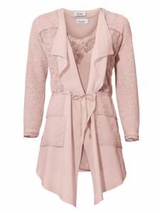 Linea Tesini By Heine Shirt-Zweiteiler mit Top rosa