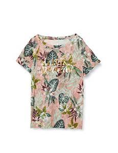 ONLY Damen ONLRILLA S/S O-Neck TOP Box JRS T-Shirt, Misty Rose, M