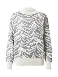 Trendyol Pullover grau / weiß