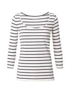 ESPRIT T-Shirt offwhite / navy