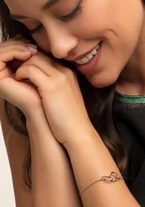 Thomas Sabo Armband rosegold / weiß