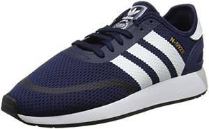 adidas Herren Iniki Runner CLS Fitnessschuhe, Blau (Maruni/Ftwbla/Negbás 000), 43 1/3 EU