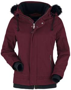 Black Premium by EMP bordeaux Winterjacke