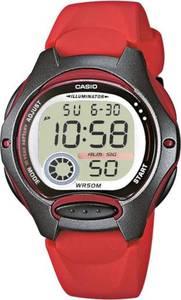 CASIO Uhr ''LW-200-4AVEF'' rot / schwarz