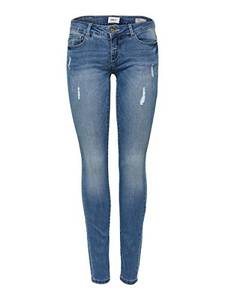 ONLY Damen Skinny Fit Jeans ONLCoral sl sk 2730Medium Blue Denim