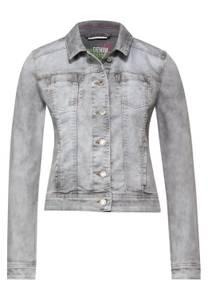 Street One Damen Coole Indoor Jacke in Denim in Grau
