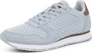 WODEN Sneaker hellblau / braunmeliert / weiß