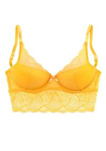 LASCANA Push-up-BH gelb
