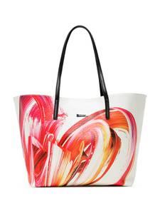 Desigual Shopper weiß / rot / schwarz