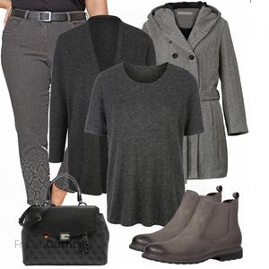 Winter Outfit in große Größen FrauenOutfits.de