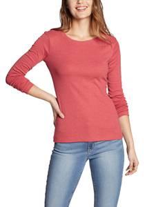 Favorite Shirt - Langarm mit Rundhalsausschnitt - uni