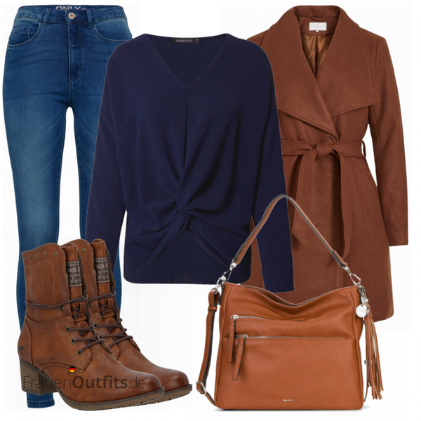 Trendiger Winterlook FrauenOutfits.de