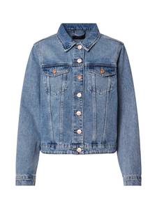PIECES Jeansjacke blau