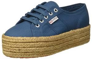 Superga Unisex Erwachsene 2790 Cotropew Sneakers, Blue (Smoky Blue), 38 EU