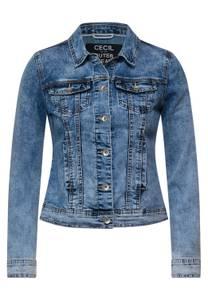 CECIL Damen Indoor Jacke in Denim in Blau
