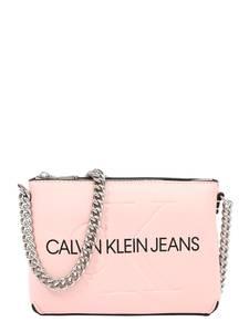 Calvin Klein Jeans Umhängetasche rosa / silber