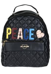 Love Moschino Rucksack blau / gelb / rosa / schwarz