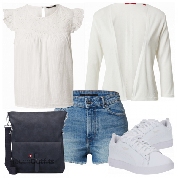 Outfit in sommerlichen Farben FrauenOutfits.ch