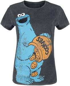 Sesamstraße Cookie Monster T-Shirt