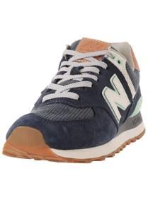 new balance Sneaker dunkelblau / braun / mint