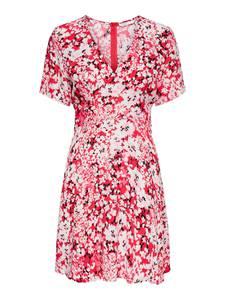 ONLY Kleid ''Enola'' rot / weiß / rosa / schwarz