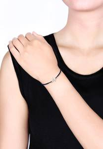 ELLI Armband ''Anker'' navy / silber