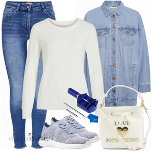 Street Style Outfit VrouwenOutfits.nl