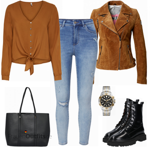 Stylishes Alltagsoutfit FrauenOutfits.de