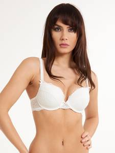 LingaDore Gel BH ''DAILY LACE'' weiß